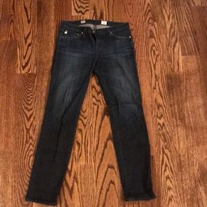AG cigarette stilt jeans